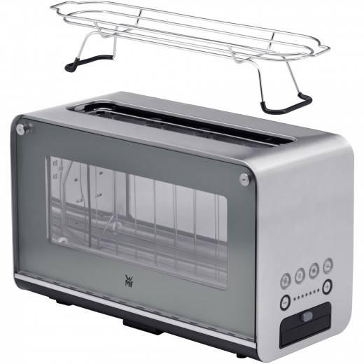 gut im Test von Haus & Garten Test 2/2021: WMF Lono Glas-Toaster