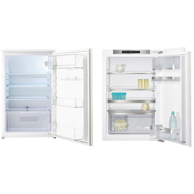 gut im Test von Stiftung Warentest 5/2017: kleiner Einbaukühlschrank