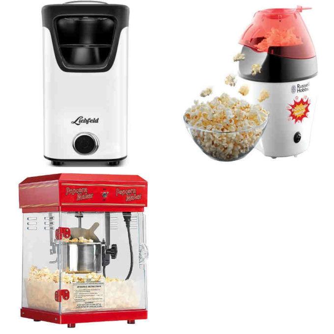 Testsieger und sehr gut im Test: Popcornmaker