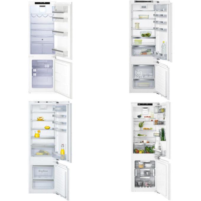 gut in Tests von Stiftung Warentest: Kühl-Gefrier-Kombination - Einbaugeräte