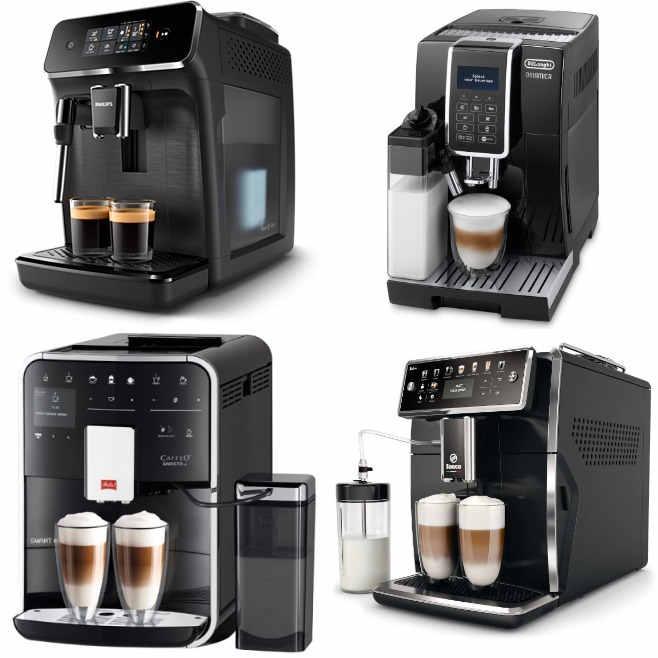 (sehr) gut im Test von Stiftung Warentest, ETM Testmagazin und Haus & Garten Test: Kaffeevollautomaten