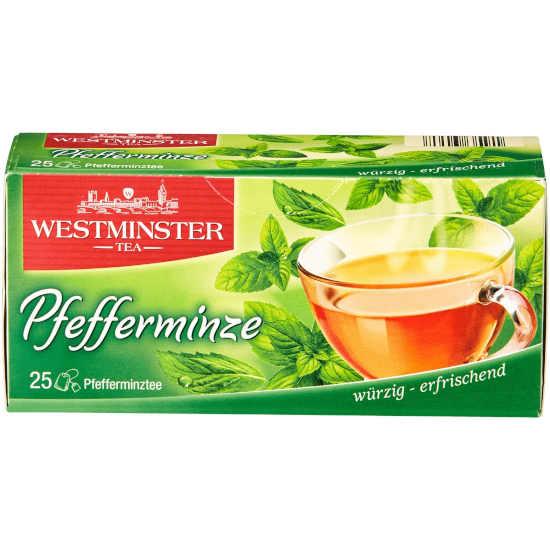 gut im Test von Stiftung Warentest 4/2017: Westminster Tea Pfefferminze (Aldi Nord)