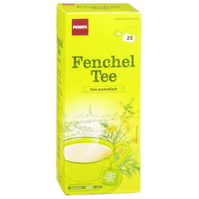 Testsieger und sehr gut im Test von Stiftung Warentest 4/2017: Fenchel Tee (Penny)