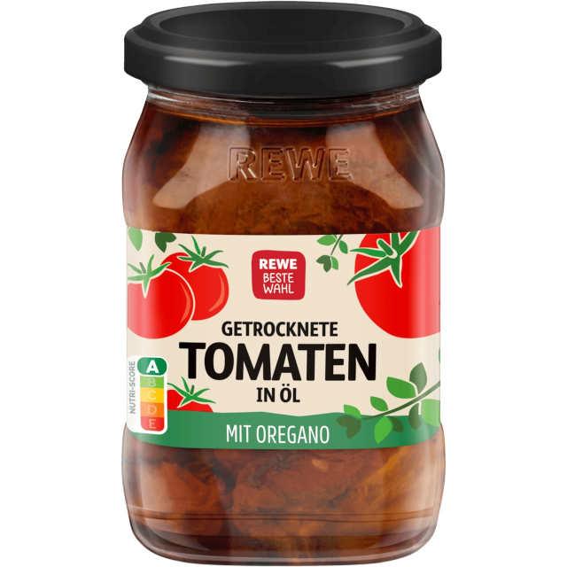 Beste Wahl Antipasti Getrocknete Tomaten in Öl mit Oregano (REWE)