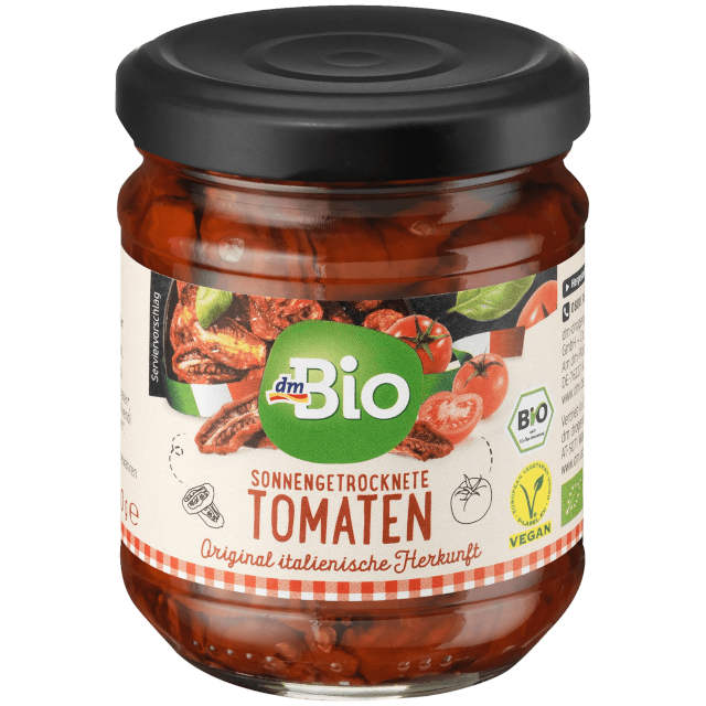 gut im Test von Stiftung Warentest 06/2017: Sonnengetrocknete Tomaten in Öl (dm)