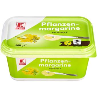 """""""gut"""" im Test von Stiftung Warentest 8/2017 und Öko-Test 10/2017: K-Classic Pflanzen Margarine (Kaufland)"""
