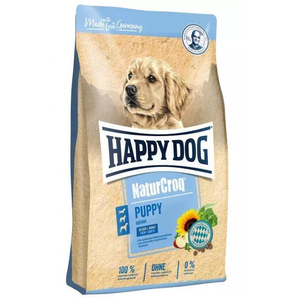 gut im Test von Öko-Test 3/2018: Vorgängerprodukt Happy Dog NaturCroq Welpen