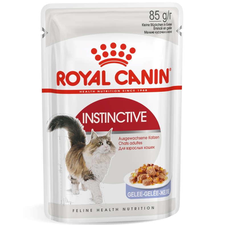sehr gut im Test von K-Tipp 8/2017: Royal Canin Instinctive Gelee