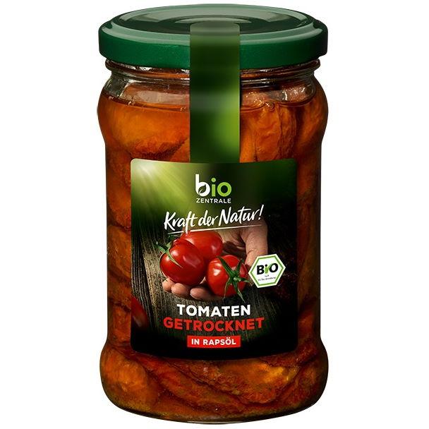 Testsieger und gut im Test von Stiftung Warentest 06/2017: Bio-Zentrale Getrocknete Tomaten in Rapsöl (Bio)