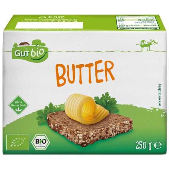 GUT BIO Bio-Süßrahm Butter (Aldi Nord)