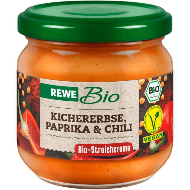 sehr gut im Test von Öko-Test 09/2020: REWE Bio Kichererbse, Paprika & Chili