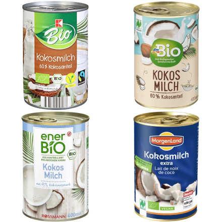 sehr gut im Test von Öko-Test: Kokosmilch
