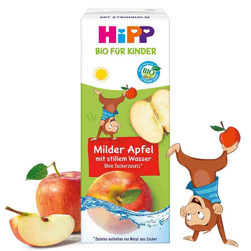 HiPP Bio-Milder Apfel mit stillem Wasser
