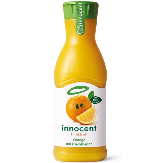 Testsieger bei ARD Buffet 09.01.2020: innocent Orange mit Fruchtfleisch
