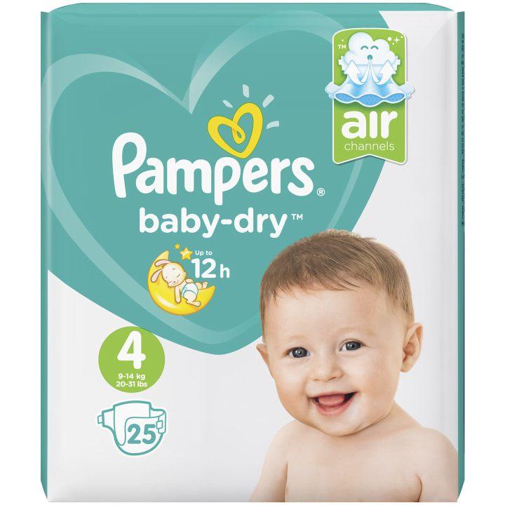 sehr gut im Test von Öko-Test 10/2017: Pampers Baby-Dry