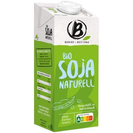 Sehr gut im Test von Öko-Test 3/2019: Berief Bio Soja Drink Naturell (Bio)