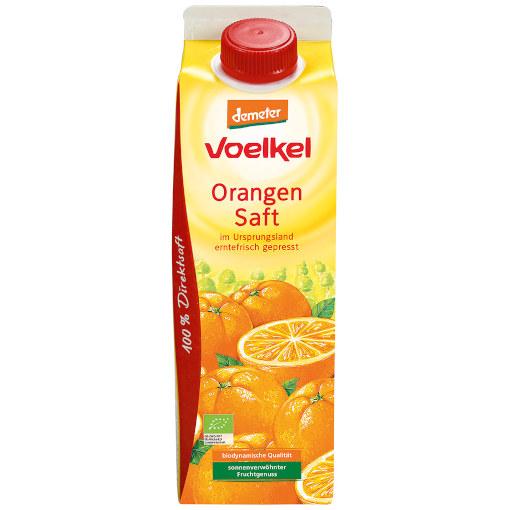 """""""gut"""" im Test von Öko-Test 4/2018: Voelkel Orangensaft"""