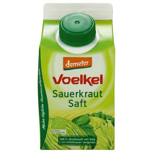 gut im Test von Öko-Test 02/2018: Voelkel Sauerkrautsaft