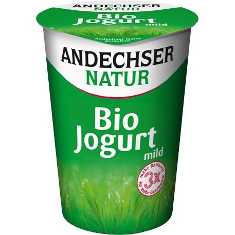 """Testsieger und """"gut"""" bei Stifung Warentest 1/2018: Andechser Natur Bio Jogurt mild 3,8 % 500g"""