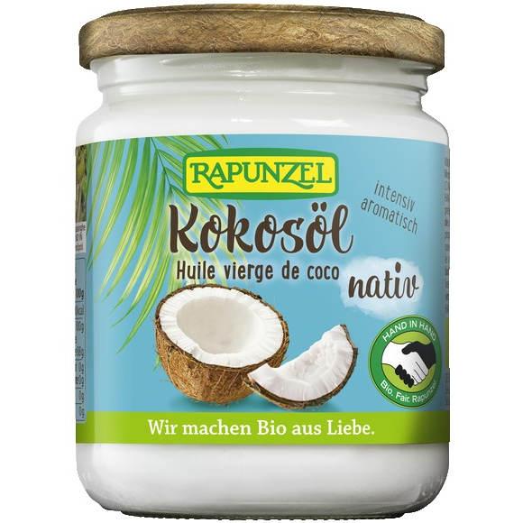 sehr gut im Test von Öko-Test 2/2020: Rapunzel Kokosöl nativ