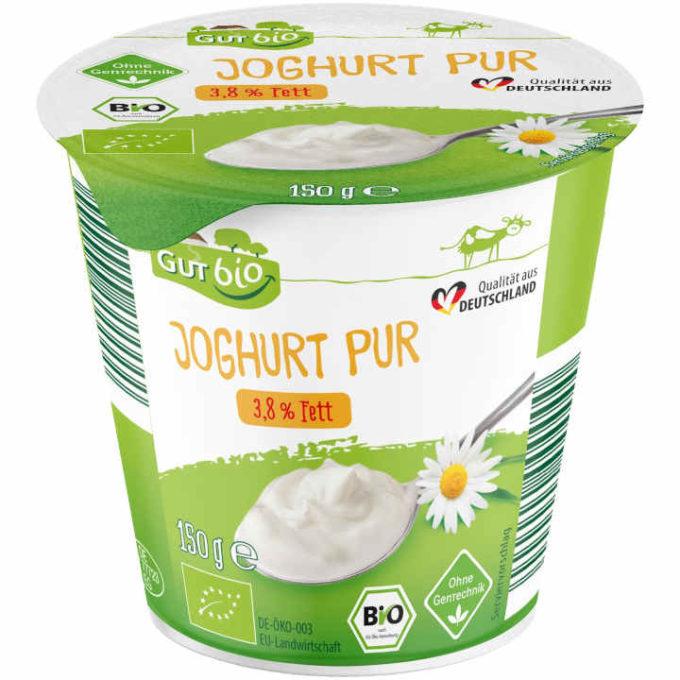 GUT bio Bio-Joghurt Pur (Aldi Nord)