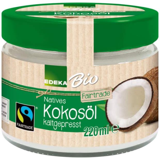 gut im Test von Stiftung Warentest 12/2018: Bio Natives Kokosöl kaltgepresst (Edeka)
