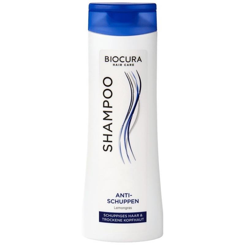 gut im Test von Stiftung Warentest 10/2017: Biocura Hair Care Shampoo Anti-Schuppen Lemongras (Aldi Nord)