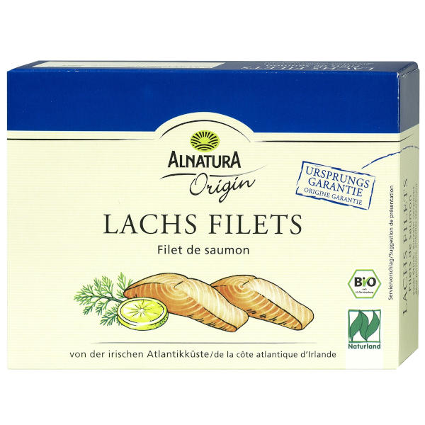 gut im Test von Stiftung Warentest 3/2018: Alnatura Origin Lachs Filets (Bio)
