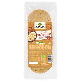 Testsieger und gut im Test von Stiftung Warentest 03/2019: Alnatura Veggie Aufschnitt Paprika