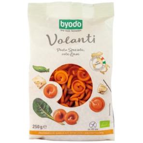 sehr gut im Test von Öko-Test 01/2019: Byodo Volanti Pasta Speziale Rote Linse (Bio)