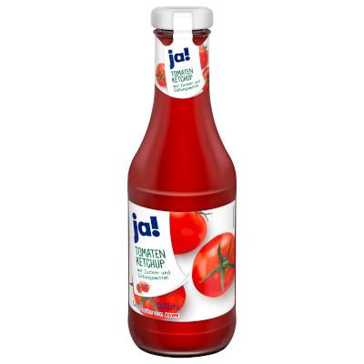 gut im Test von Stiftung Warentest 05/2019: ja! Tomaten Ketchup (REWE)