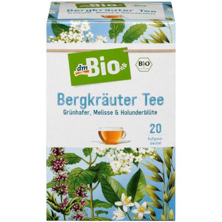 """""""gut"""" im Test von Öko-Test 10/2018: Bio Bergkräutertee (dm) (Bio)"""