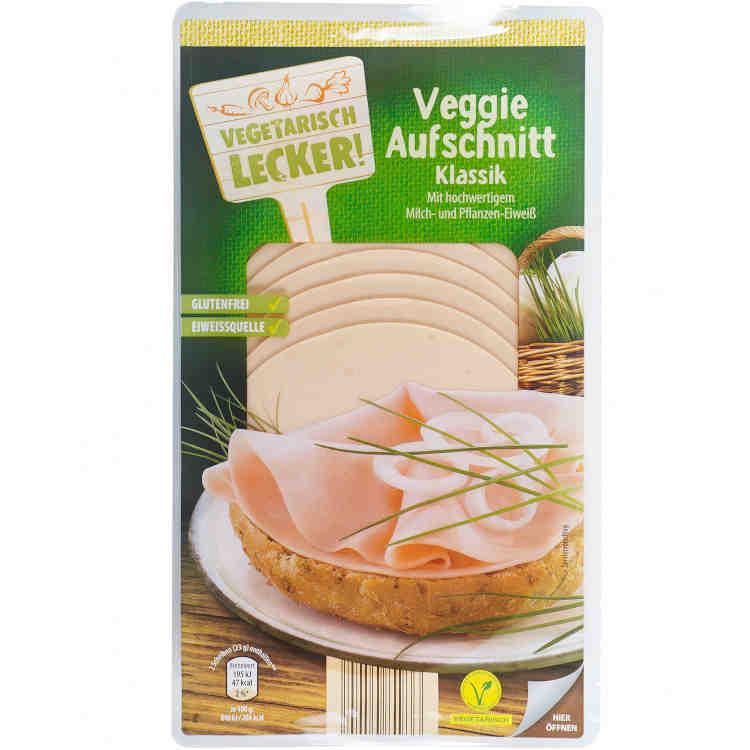 gut im Test von Stiftung Warentest 3/2019: Vegetarisch Lecker Veggie Aufschnitt Klassik (Aldi Süd)