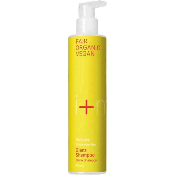 sehr gut im Test von Öko-Test 5/2019: i+m Hair Care Glanz Shampoo Zitrone