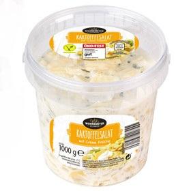 gut im Test von Öko-Test 06/2018: Wonnemeyer Feinkost Kartoffelsalat mit Crème Fraîche (Aldi Süd)