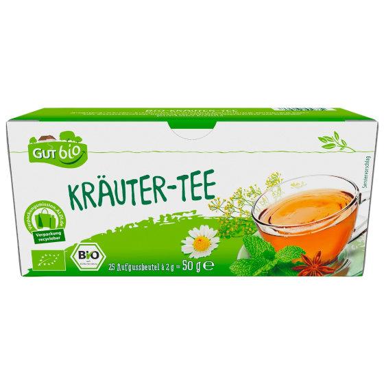 GutBio Kräuter-Tee (Aldi Nord)
