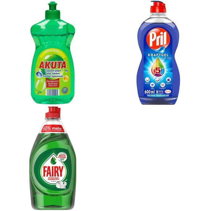 Testsieger und gut im Test: Handspülmittel