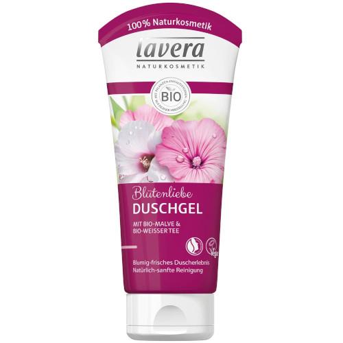 Sehr gut im Test von Öko-Test 9/2017: Lavera Blütenliebe Duschgel Bio-Malve & Bio-weißer Tee