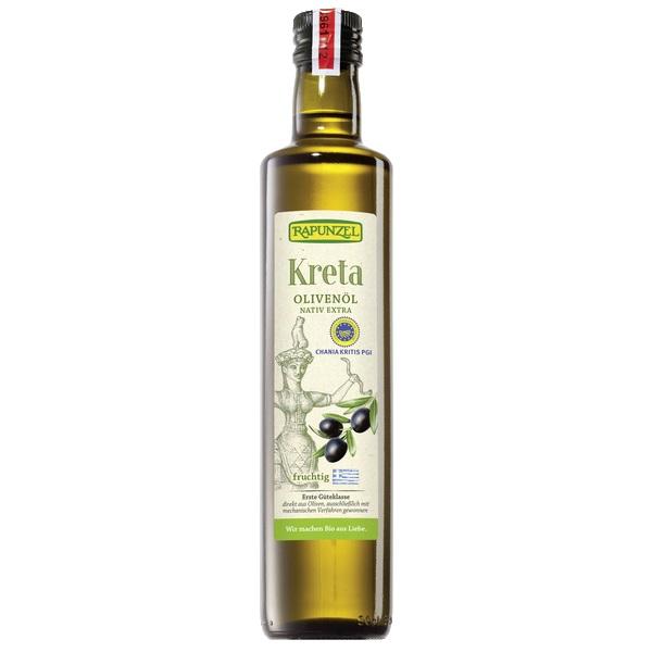 """Testsieger und """"gut"""" bei Stiftung Warentest 5/2019: Rapunzel Kreta Olivenöl P.G.I. nativ extra (Bio)"""