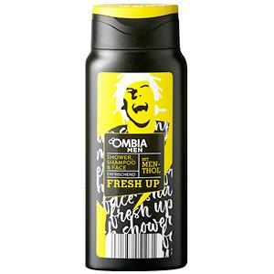 Gut im Test von Öko-Test 8/2019: Ombia Men Fresh Up Shower, Shampoo & Face (Aldi Süd)