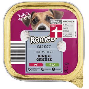 sehr gut im Test von Stiftung Warentest 6/2019: Romeo SELECT Feine Pastete
