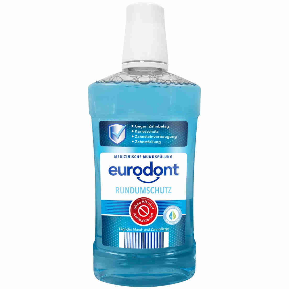 Eurodont Medizinische Mundspülung Rundumschutz (Aldi Nord)