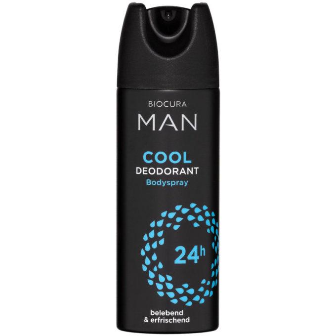 sehr gut im Test von Öko-Test 5/2020: Biocura Man Cool Deodorant (Aldi Nord)