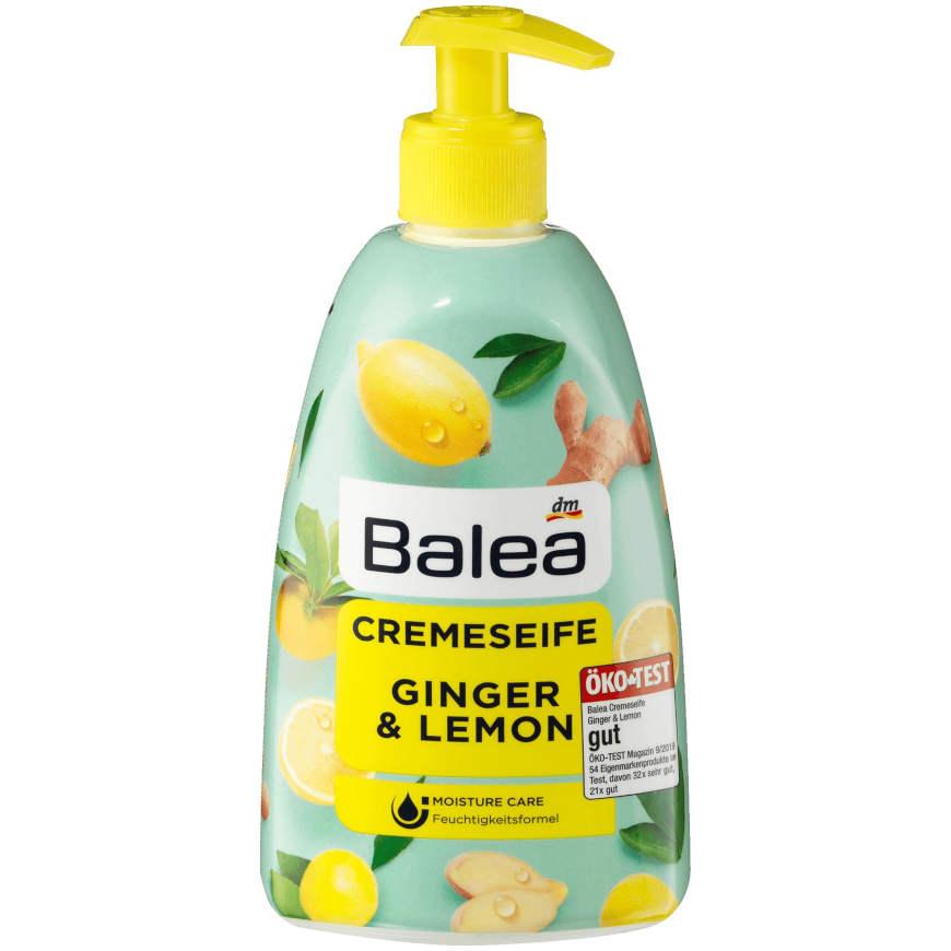 gut im Test von Öko-Test 9/2019: Balea Flüssigseife Ginger & Lemon