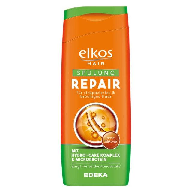 """""""gut"""" im Test von Stiftung Warentest 2/2019: elkos Hair Spülung Repair (Edeka)"""