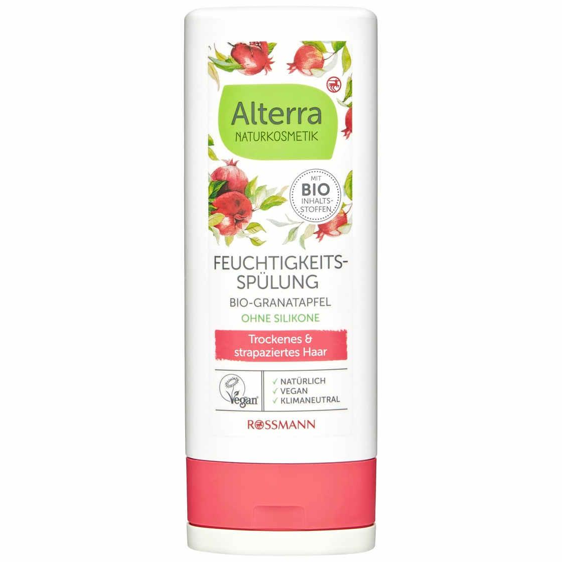 Alterra Feuchtigkeitsspülung Bio-Granatapfel & Bio-Aloe Vera (Rossmann)