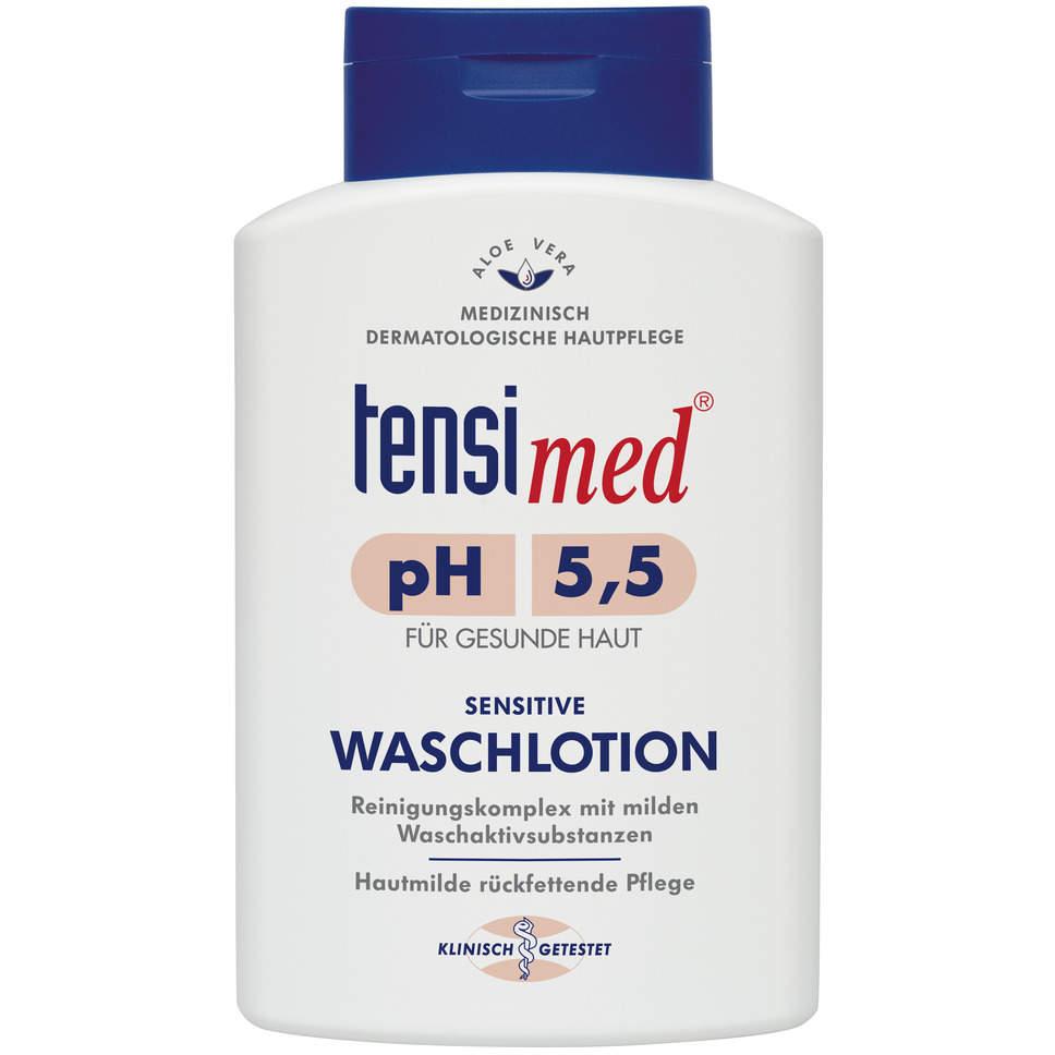 gut im Test von Öko-Test 04/2021: Tensimed Sensitive Waschlotion