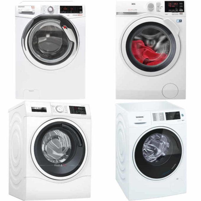 (sehr) gut im Test von Stiftung Warentest und ETM Testmagazin: Waschtrockner