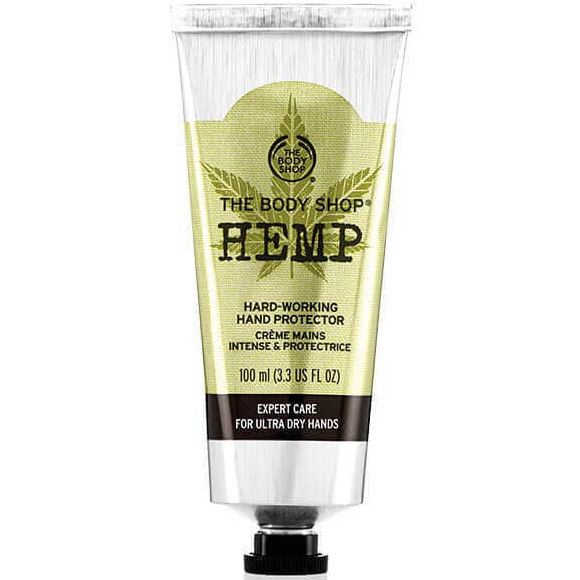 Testsieger und sehr gut im Test von Stiftung Warentest 8/2018: The Body Shop Hemp Hand Protector