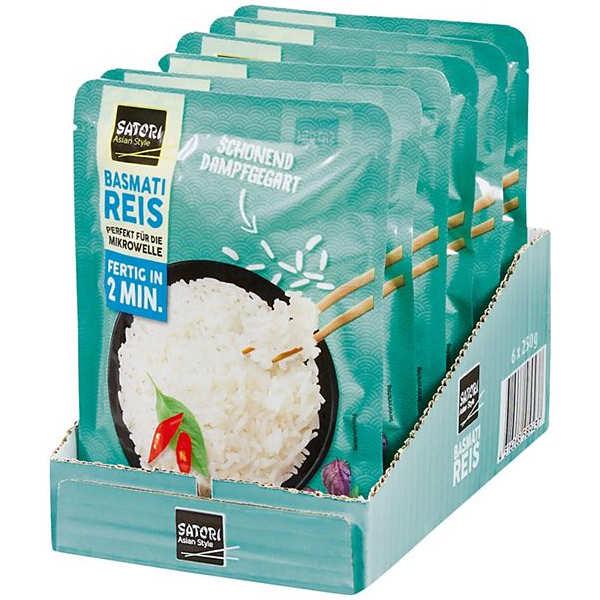 sehr gut im Test von Öko-Test 07/2020: Satori Asian Style Basmati Reis